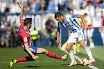 CD Leganes' Oscar Rodriguez Arnaiz (r) and Atletico de Madrid's Saul Niguez during La Liga match. November 3,2018. (ALTERPHOTOS/Acero)