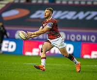 29th April 2021; DW Stadium, Wigan, Lancashire, England; BetFred Super League Rugby, Wigan Warriors versus Hull FC;  Jackson Hastings of Wigan Warriors