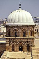 Tunis, Tunisia.  Zeitouna Mosque Cupola.