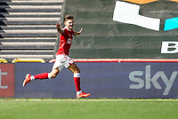 12th September 2020; Ashton Gate Stadium, Bristol, England; English Football League Championship Football, Bristol City versus Coventry City; Jamie Paterson of Bristol City celebrates as he scores in the first minute for a 1-0 lead