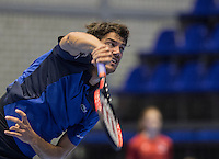 Rotterdam, Netherlands, December 14, 2016, Topsportcentrum, Lotto NK Tennis,   Jesse Huta Galung (NED)<br /> Photo: Tennisimages/Henk Koster