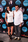 Cecilia Gomez and Emiliano Suarez attends the photocall before the concert of spanish singer El Barrio in Royal Theater in Madrid, Spain. July 27, 2015.<br />  (ALTERPHOTOS/BorjaB.Hojas)