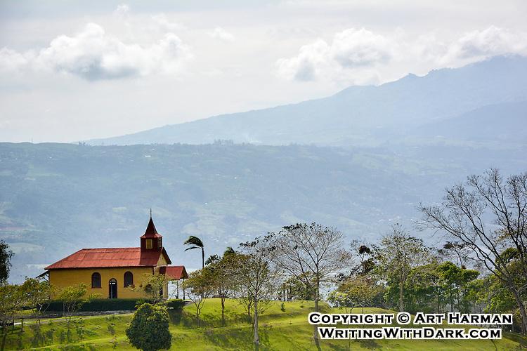Costa Rica Mountain Church by Art Harman