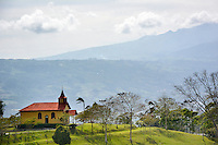 Costa Rica Mountain Church by Art Harman