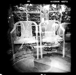 Chairs Plus, in-camera double exposure.