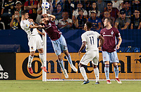 Carson, CA -  Tuesday August 14, 2018: The Los Angeles Galaxy and the Colorado Rapids played to a 2-2 tie during a Major League Soccer (MLS) game at StubHub Center.