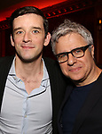 Michael Urie and Neil Pepe attends The New York Drama Critics' Circle Awards at Feinstein's/54 Below on May 10, 2018 in New York City.