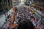 """Protesters gathered in Times Square to support """"Black Lives Matter"""" movement"""