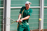 South Africa's Albertus Kruger during Junior Davis Cup 2015 match. September  30, 2015.(ALTERPHOTOS/Acero)