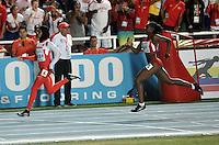 CALI - COLOMBIA - 17-07-2015: Salwa Eid Naser de Bahrein, durante la prueba de los 400 metros en el estadio Pascual Guerrero sede, sede de IAAF Campeonatos Mundiales de la Juventud Cali 2015.  / Salwa Eid Naser of Bahrain, during the test of 400 meters in the Pascual Guerrero home of the IAAF World Youth Championships Cali 2015. Photos: VizzorImage / Luis Ramirez / Staff.
