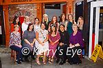 Eileen Galvin, Castlecove celebrated her hen party in Reidys bar Killarney  on Saturday before they headed off to Dingle for the night Front row: Margaret Mahony, Linda Galvin, Saoirse Mangan, Kathleen Galvin, <br /> <br /> Lisa O'Shea, Eileen O'Reilly, Laura, McLoughlin, Clare Galvin,  Catherine Madden, Fiona Mahony, Ann Marie Mahony, Caroline O'Brien,