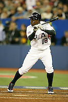 March 7, 2009:  Centerfielder Curtis Granderson (28) of Team USA during the first round of the World Baseball Classic at the Rogers Centre in Toronto, Ontario, Canada.  Team USA defeated Canada 6-5 in both teams opening game of the tournament.  Photo by:  Mike Janes/Four Seam Images