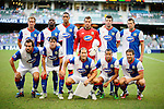 SO KON PO, HONG KONG - JULY 30: Blackburn Rovers players pose for a team photograph before the Asia Trophy match against Kitchee at the Hong Kong Stadium on July 30, 2011 in So Kon Po, Hong Kong.  Photo by Victor Fraile / The Power of Sport Images