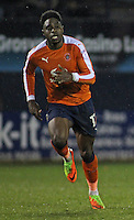 Pelly-Ruddock Mpanzu of Luton Town in action during the The Checkatrade Trophy Semi Final match between Luton Town and Oxford United at Kenilworth Road, Luton, England on 1 March 2017. Photo by Stewart  Wright  / PRiME Media Images.