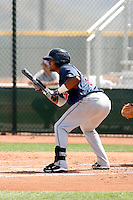 Alex Castillo, Cleveland Indians 2010 minor league spring training..Photo by:  Bill Mitchell/Four Seam Images.