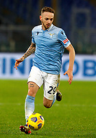 Lazio s Manuel Lazzari in action during the Serie A soccer match between Lazio and Hellas Verona at Rome's Olympic Stadium, December 12, 2020.<br /> UPDATE IMAGES PRESS/Riccardo De Luca