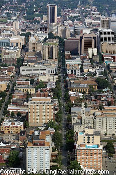 aerial photograph of Richmond Virginia