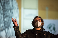 """Daniele Vicari (Film Director, Screenwriter, Author, globally known as Director of the movie """"Diaz – Don't Clean Up This Blood"""").<br /> <br /> Rome, 03/12/2020. Today, the Nuovo Cinema Palazzo Community held a second public assembly (1.) in Rome's San Lorenzo district to protest against the eviction of the """"Nuovo Cinema Palazzo"""" completed by the Italian police forces in the early morning of the 25th of November and to demonstrate against the violent reaction of the Police forces when, in the evening of the same day, a large demo asked to have the chance to hold a public assembly in the square (Piazza dei Sanniti) of the cinema (2.). The public assembly of today saw the participation and the support & solidarity of the representatives of movements, actors, musicians, students, artists, politicians, and citizens of San Lorenzo who told their stories and memories related to the famous Rome's Art and culture occupation (For example, actor Marcello Fonte, Best Actor Award of the 2018 Cannes Film Festival for the film Dogman, was among the first group of occupiers of the Nuovo Cinema Palazzo). The assembly of the 1st December was interrupted due to the bad weather (3).<br /> The Nuovo Cinema Palazzo was occupied the 15th of April 2011, when citizens, movements, workers of the entertainment industry reopened the former """"Palazzo Cinema"""" to prevent the opening of a casino/gambling space. The illegal occupation was intended as a public hub of art, culture, sport and politics, an open place for exchange, discussion, studies, caring and sharing.<br /> <br /> Footnotes & Links:<br /> 1. http://bit.do/fLCpE<br /> 2. Demo And Clashes Against Nuovo Cinema Palazzo Eviction in Rome's San Lorenzo: http://bit.do/fLxgz<br /> 3. http://bit.do/fLCr3<br /> Previous Stories about Nuovo Cinema Palazzo: 14.04.2018 - Nuovo Cinema Palazzo's Concert: """"7 Anni di CasiNò 
