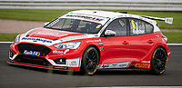 23rd August 2020; Oulton Park Circuit, Little Budworth, Cheshire, England; Kwik Fit British Touring Car Championship, Oulton Park, Race Day;  Rory Butcher Motorbase Performance driving a Ford Focus ST second in race 1