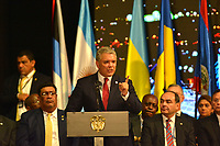 MEDELLÍN - COLOMBIA ,28-06-2019:El Presidente de Colombia Ivan Duque durante  La 49 Asamblea General de La Organización de Estados Americanos (OEA)/ The President of Colombia Ivan Duque during the 49th General Assembly of the Organization of American States (OEA). Photo: VizzorImage / León Monsalve / Contribuidor.