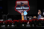 Rylie Romero during the Break Away and Tie Down Roping Back Number presentation at the Junior World Finals. Photo by Andy Watson. Written permission must be obtained to use this photo in any manner.