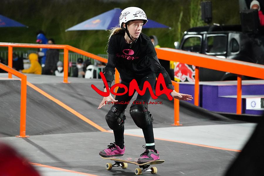 6th November 2020; Parc del Forum, Barcelona, Catalonia, Spain; Imagin Extreme Barcelona; picture show Daniela Terol (ESP)  women street final