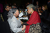 Toni Morrison and  Maya Angelou, winner of the 2013 Literarian Award for the Outstanding Service to the American LIterary Community,   attends the 2013 National Book Awards Dinner and Ceremony on November 20, 2013 at Cipriani Wall Street in New York City.