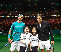 Rotterdam, The Netherlands, 17 Februari, 2018, ABNAMRO World Tennis Tournament, Ahoy, Tennis, Semi final single, Andreas Seppi (ITA), Roger Federer (SUI)<br /> <br /> Photo: www.tennisimages.com