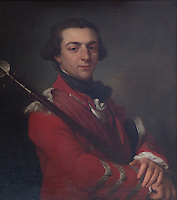 An 18th century portrait of Augustus FitzRoy, 3rd Duke of Grafton hangs in the library. A British Whig statesman, he became Prime Minister in 1768
