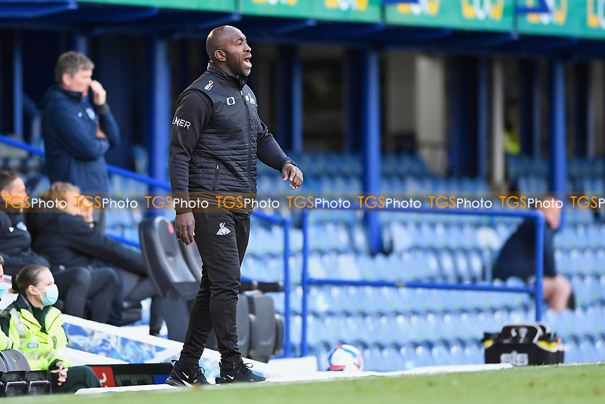 Doncaster Rovers Manager Darren Moore during Portsmouth vs Doncaster Rovers, Sky Bet EFL League 1 Football at Fratton Park on 17th October 2020