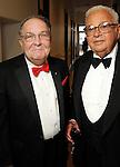 Dr. Jim Willerson and Fayez Sarofim at the Alley Ball held at the Air Terminial Museum at Hobby Airport Saturday May 15,2010.  (Dave Rossman Photo)