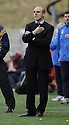 16/03/2008    Copyright Pic: James Stewart.File Name : sct_jspa16_hamilton_v_dundee.DUNDEE BOSS ALEX RAE WATCHES HIS SIDE GO DOWN 1-0 TO HAMILTON.James Stewart Photo Agency 19 Carronlea Drive, Falkirk. FK2 8DN      Vat Reg No. 607 6932 25.Studio      : +44 (0)1324 611191 .Mobile      : +44 (0)7721 416997.E-mail  :  jim@jspa.co.uk.If you require further information then contact Jim Stewart on any of the numbers above........