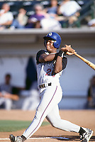 1996: Adrian Beltre of the San Bernardino Stampede bats at The Epicenter in Rancho Cucamonga,CA.  Photo by Larry Goren/Four Seam Images