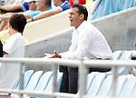 Getafe's coach Luis Garcia during La Liga Match. September 18, 2011. (ALTERPHOTOS/Alvaro Hernandez)