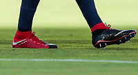 Santa Clara, CA - Wednesday July 26, 2017: Clint Dempsey and his new NIKE boots during the 2017 Gold Cup Final Championship match between the men's national teams of the United States (USA) and Jamaica (JAM) at Levi's Stadium.