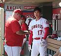 MLB: Shohei Ohtani: Los Angeles Angels vs Oakland Athletics