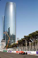4th June 2021; Baku, Azerbaijan;  Free practise sessions;  33 VERSTAPPEN Max (nld), Red Bull Racing Honda RB16B during the Formula 1 Azerbaijan Grand Prix 2021 at the Baku City Circuit, in Baku, Azerbaijan -