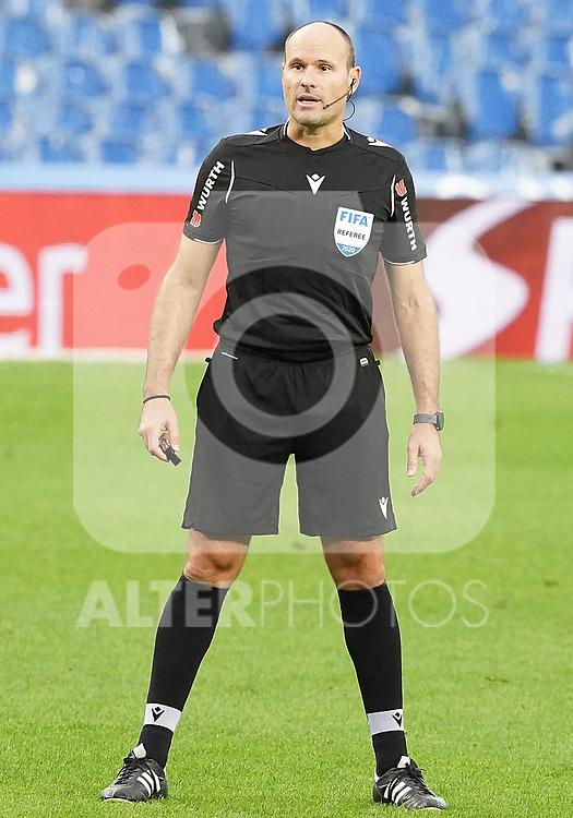 Spanish referee Antonio Miguel Mateu Lahoz during La Liga match. October 3, 2020. (ALTERPHOTOS/Acero)