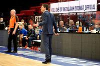 27-02-2021: Basketbal: Donar Groningen v Den Helder Suns: Groningen Donar coach Ivan Rudez