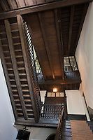 Europe/France/Aquitaine/64/Pyrénées-Atlantiques/Pays-Basque/Saint-Jean-de-Luz: Maison Louis XIV, Maison d'armateur  luzien du XVIIème. - Le Grand Escalier