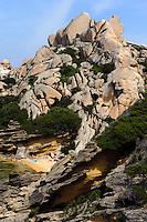 Bucht Cala Spinosa an Halbinsel Capo Testa in der Gallura, Provinz Olbia-Tempio, Nord Sardinien, Italien