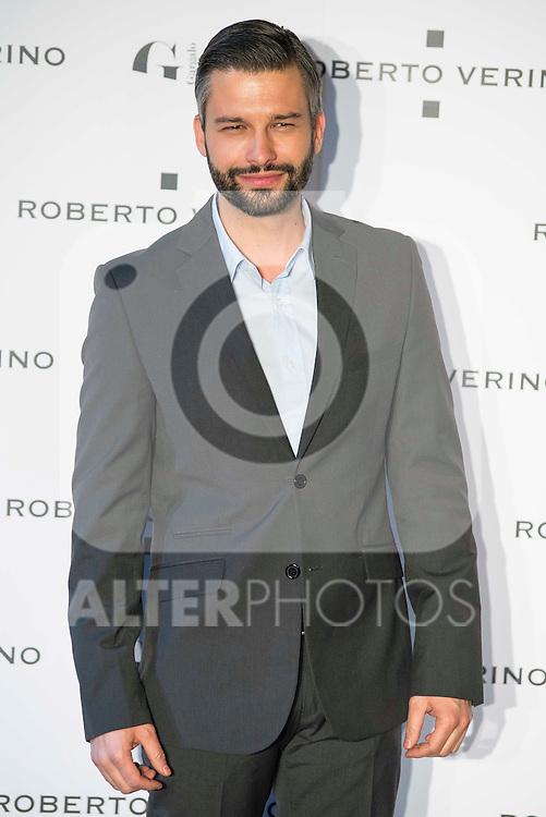 "Marc Parejo during the presentation of the new Spring-Summer collection ""Un Balcon al Mar"" of Roberto Verino at Platea in Madrid. March 16, 2016. (ALTERPHOTOS/Borja B.Hojas)"