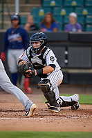 Jackson Generals Daulton Varsho (5) during a Southern League game against the Mississippi Braves on July 23, 2019 at The Ballpark at Jackson in Jackson, Tennessee.  Mississippi defeated Jackson 1-0 in the second game of a doubleheader.  (Mike Janes/Four Seam Images)