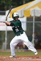 Farmingdale State Rams Dan Lombardo during a game against the U-Mass Boston Beacons at North Charlotte Regional Park on March 19, 2015 in Port Charlotte, Florida.  U-Mass Boston defeated Farmingdale 9-5.  (Mike Janes/Four Seam Images)