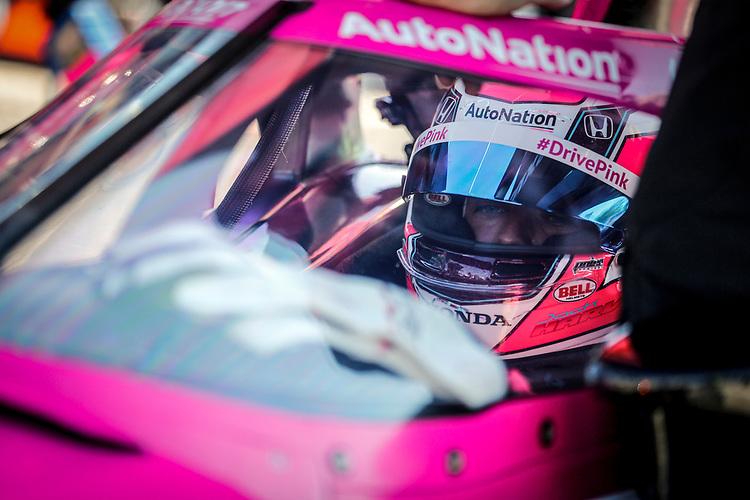 #60: Meyer Shank Racing, Honda, Jack Harvey,