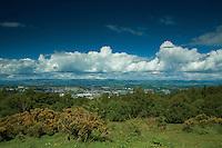 Perth from Kinnoull Hill, Perth, Perthshire