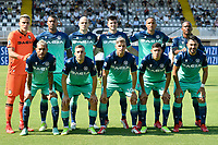Udinese players pose for a team photo during the Serie A football match between Spezia Calcio and Udinese Calcio at Alberto Picco stadium in La Spezia (Italy), September 12th, 2021. Photo Andrea Staccioli / Insidefoto