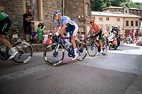 Niki Terpstra (NED/Total - Direct Energie) in the break away group. <br /> <br /> Stage 8: Macon to Saint-Etienne (200km)<br /> 106th Tour de France 2019 (2.UWT)<br /> <br /> ©kramon