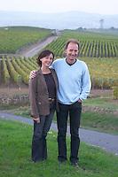 Jean Paul and Monique Paquet owner domaine fussiacus macon burgundy france