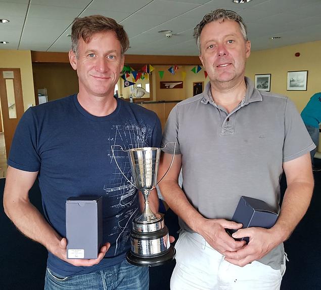 Noel Butler and Stephen Oram, overall winners